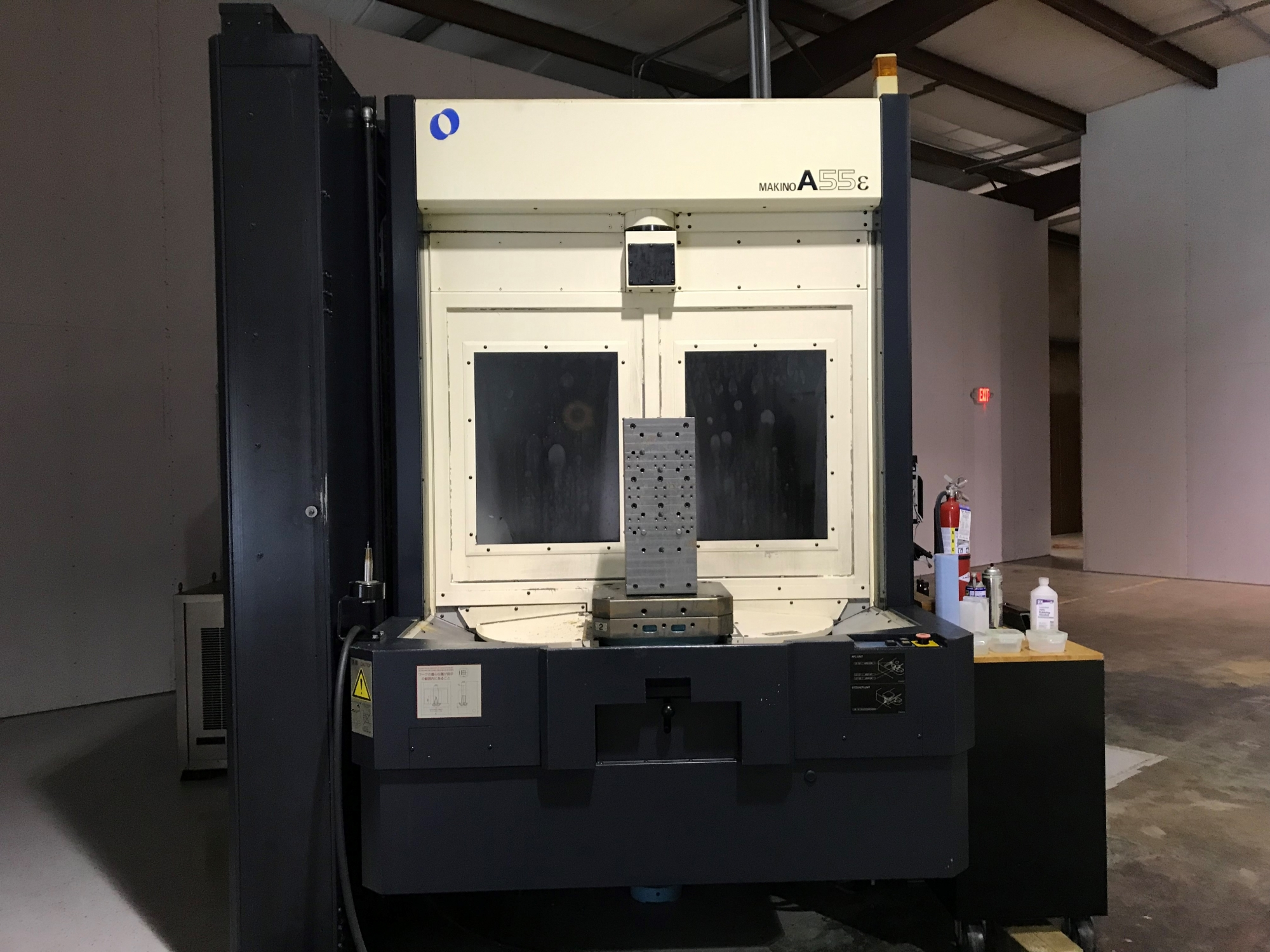 2002 MAKINO A55e - Horizontal Machining Center