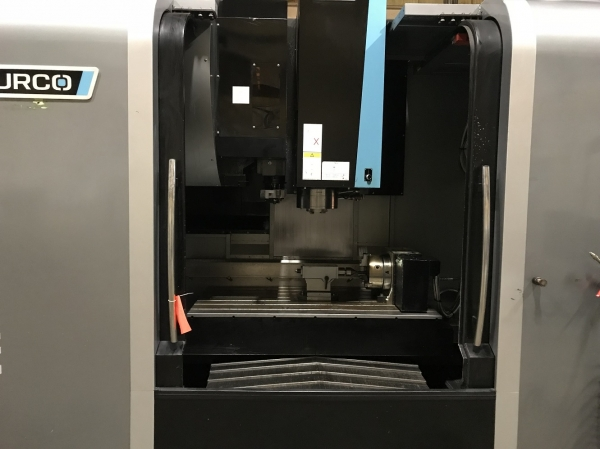 2013 HURCO VMX50i w/4th Axis - Vertical Machining Center