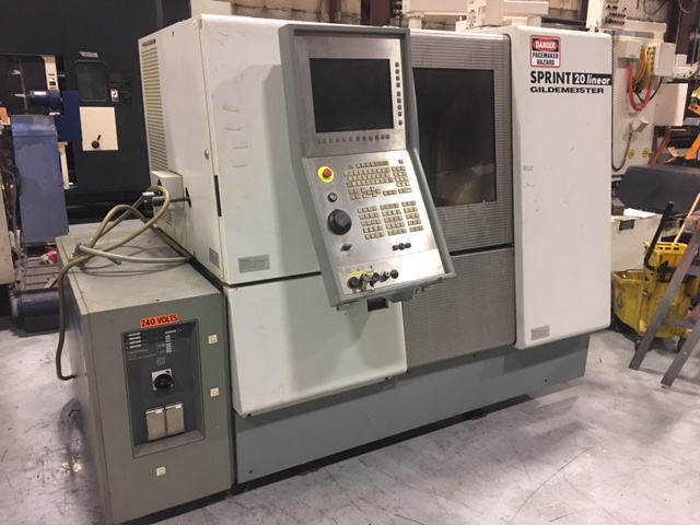 2005 GILDEMEISTER Sprint 20 Linear Screw Machine