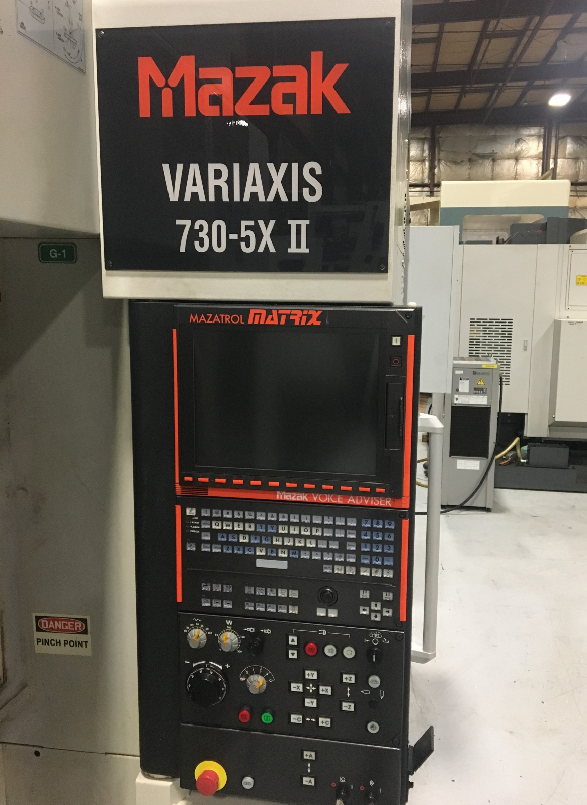 2012 MAZAK Variaxis 730-5x II - Vertical Machining Center