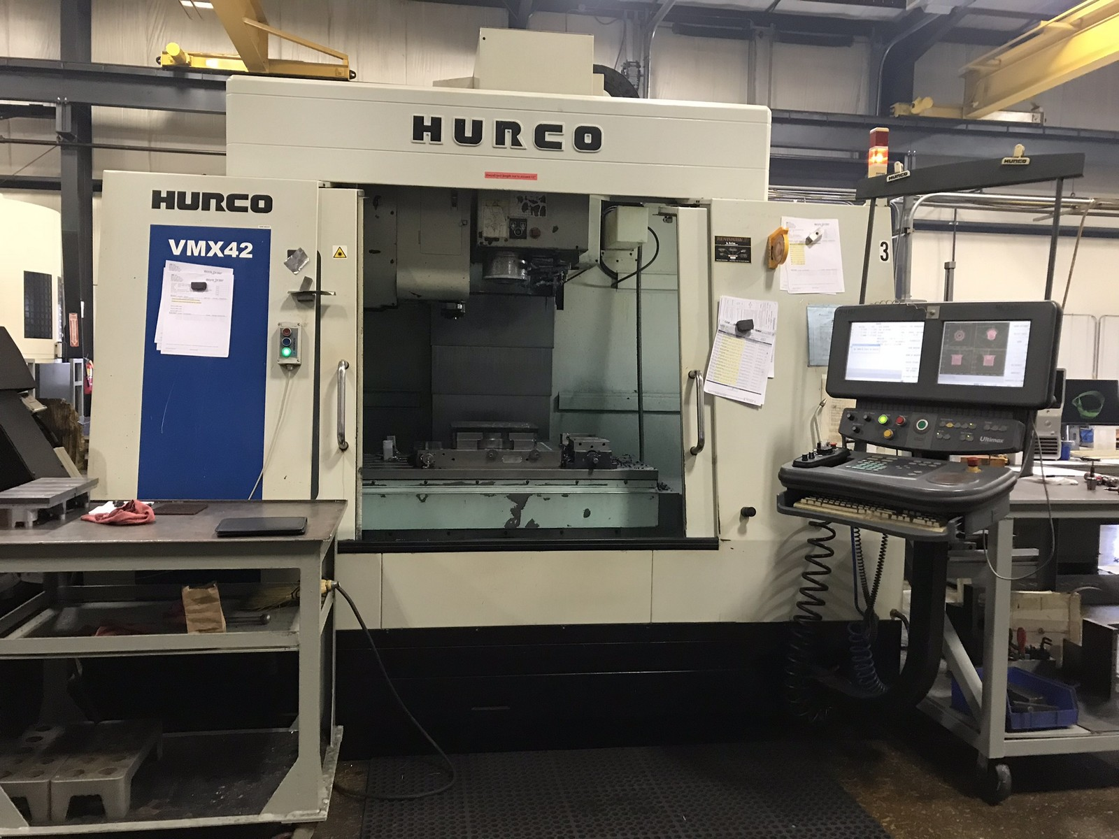 2007 HURCO VMX42 - Vertical Machining Center