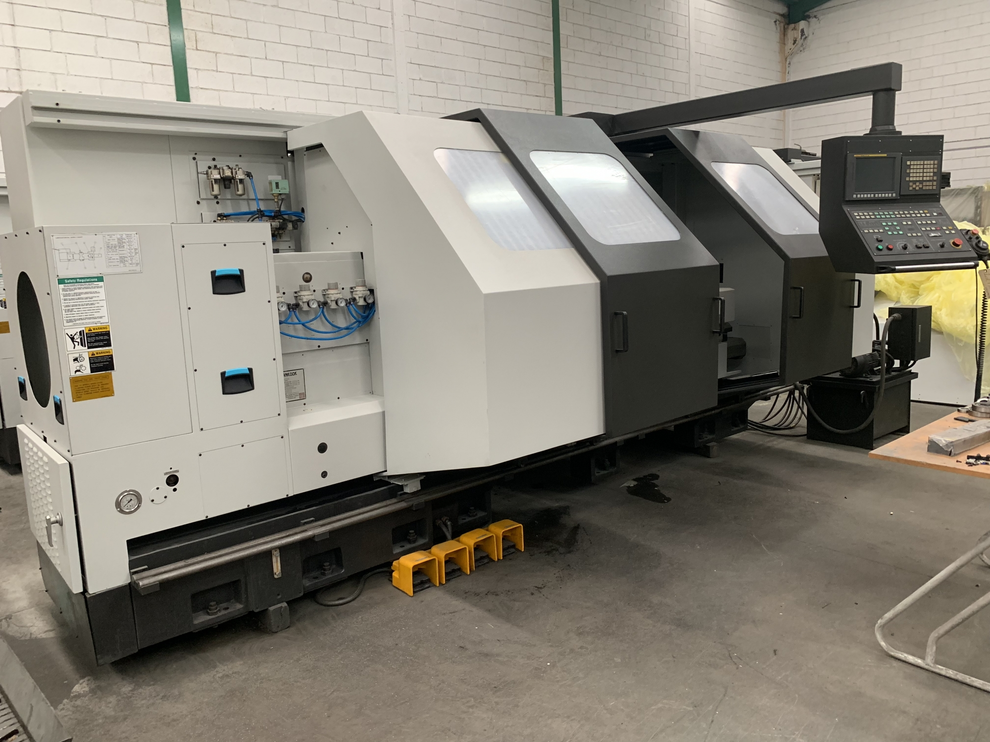 2012 HANKOOK Proturn 60B - CNC Horizontal Lathe