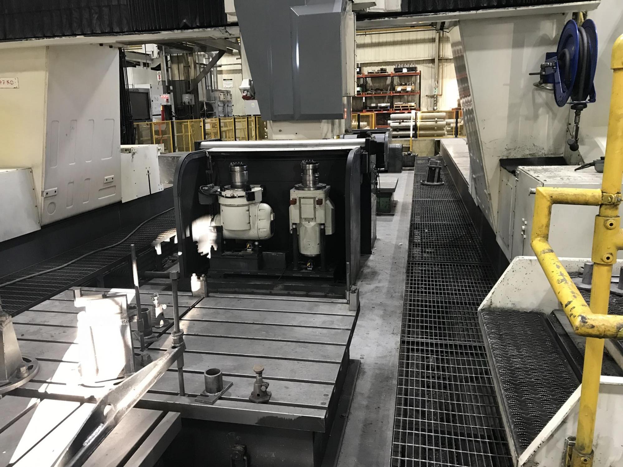 2007 MAG CINCINNATI U5 CNC 5-Face Traveling Gantry Rail Type Milling Machine