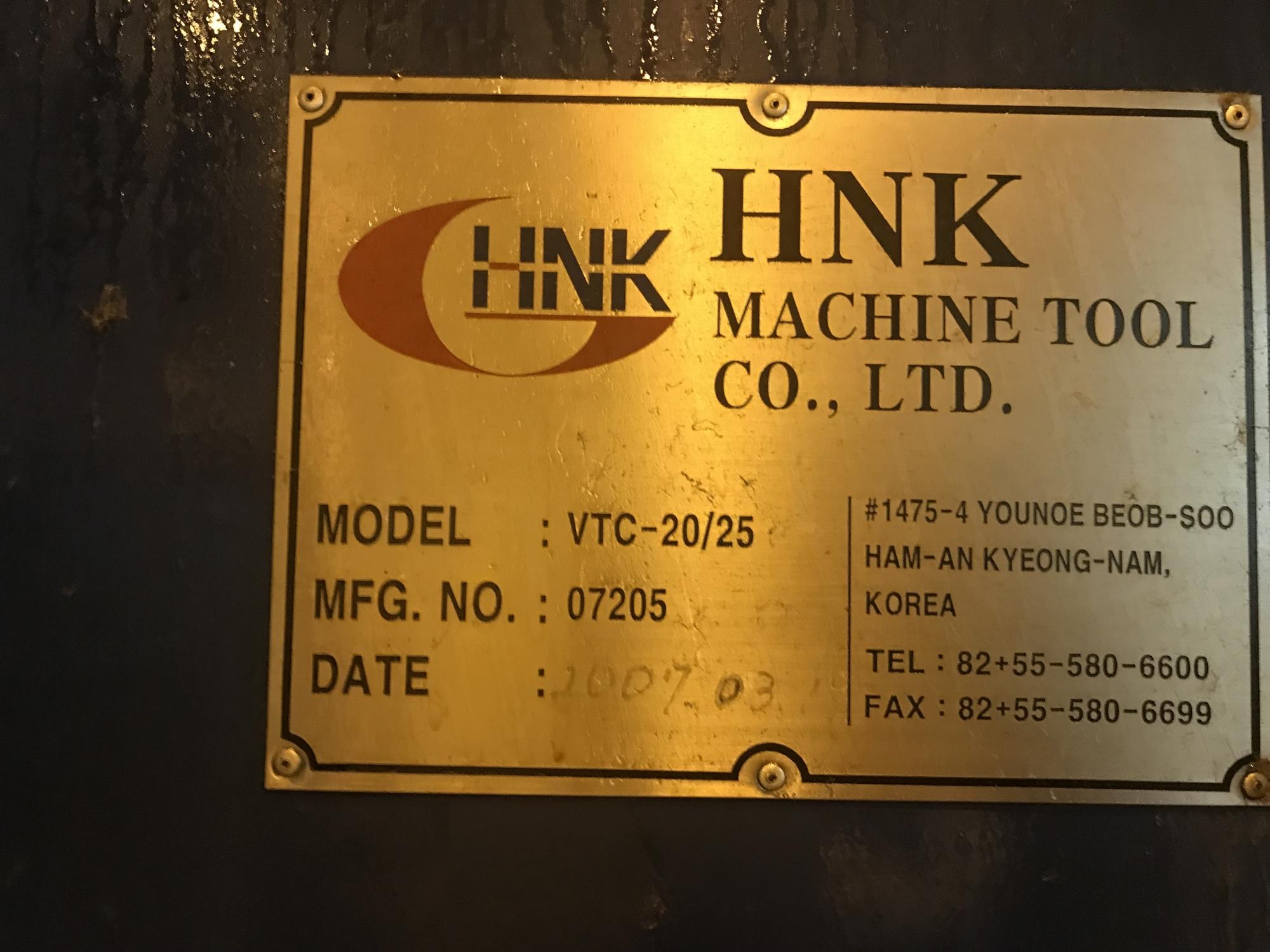2007 HNK VTC20/25M