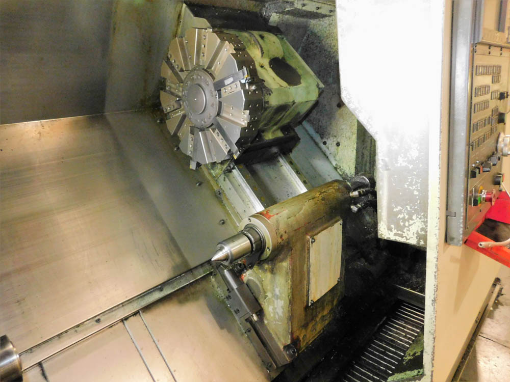 2005 HWACHEON Cutex 240 - CNC Horizontal Lathe