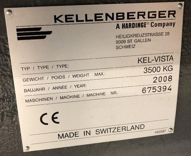 2008 KELLENBERGER Kel-Vista R175/600