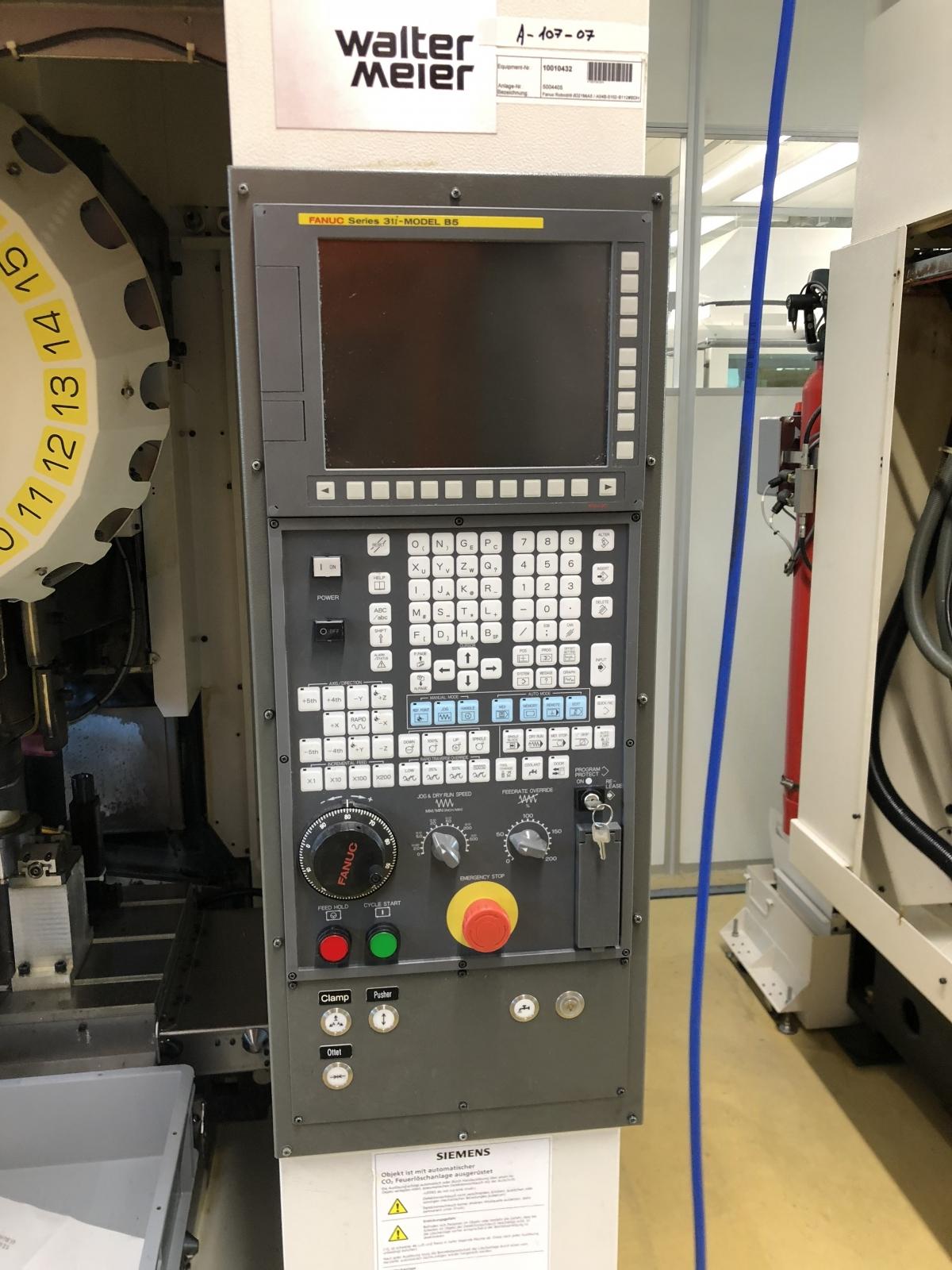 2014 FANUC Robodrill a-D21MiA5 - 5 Axis - Vertical Machining Center