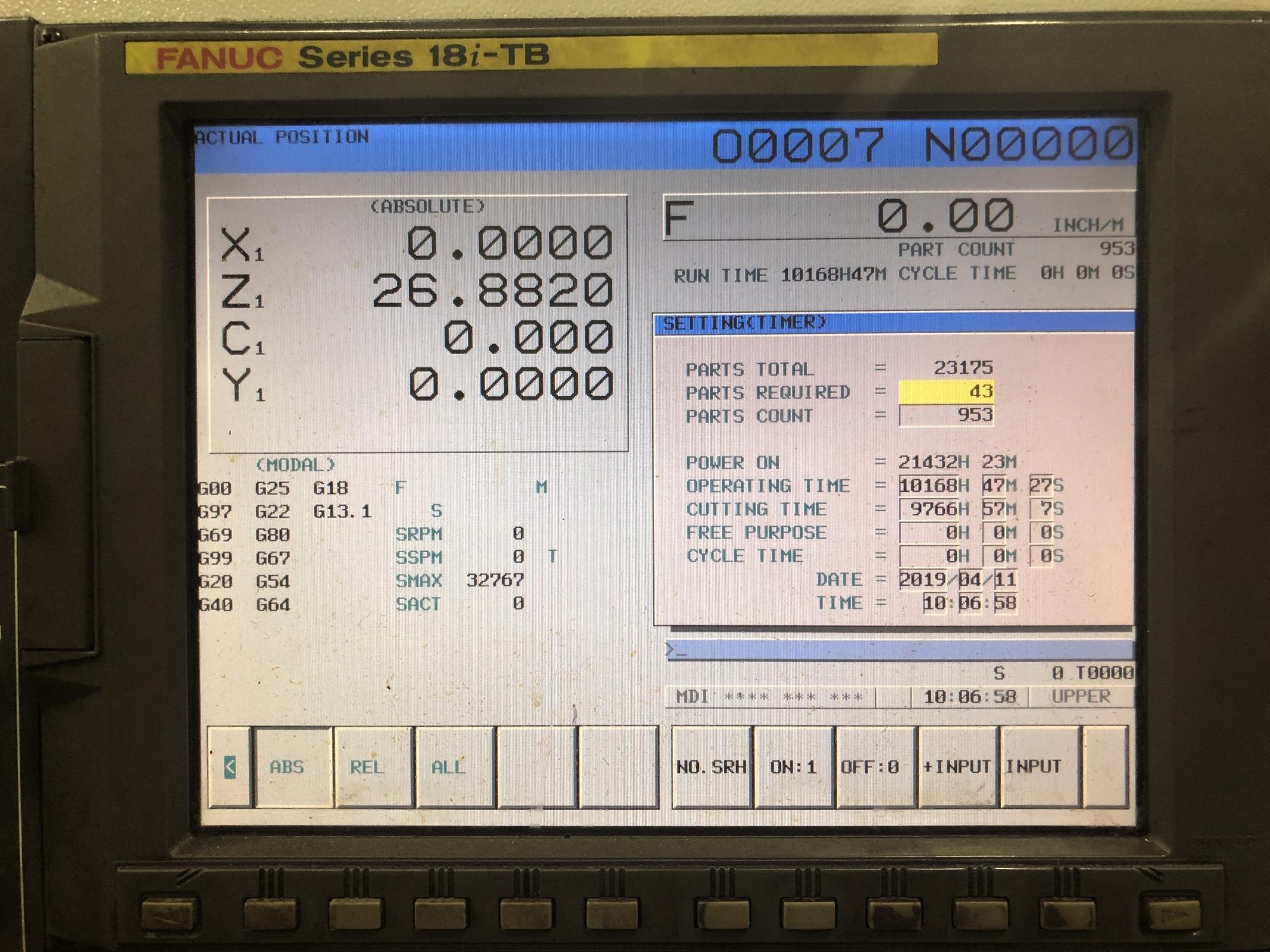 2005 NAKAMURA-TOME WT-300MMYS - CNC Horizontal Lathe