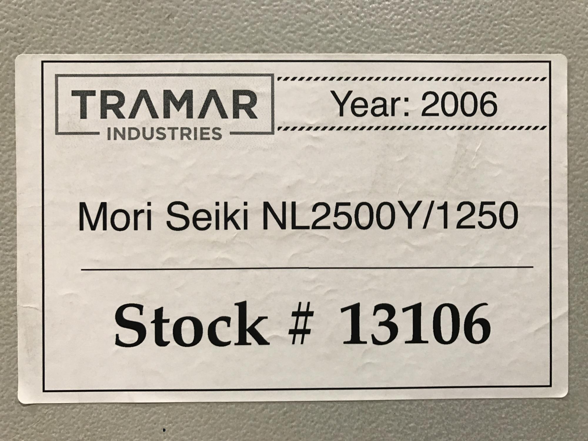 2006 MORI SEIKI NL2500Y/1250 - CNC Horizontal Lathe