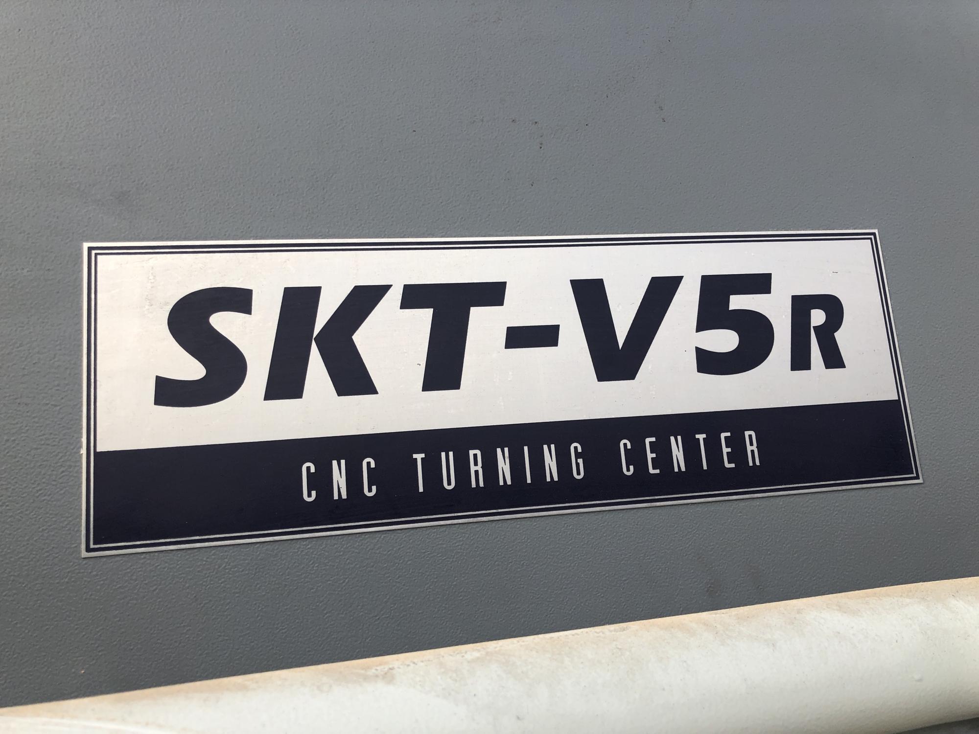 2008 HYUNDAI KIA SKT-V5R with Live Tooling  - CNC Horizontal Lathe