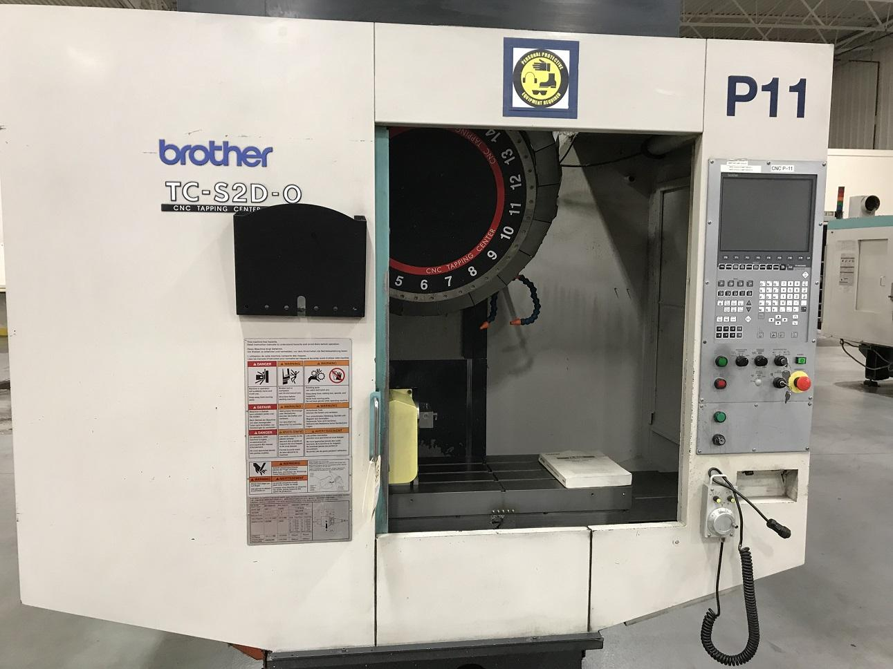 2009 BROTHER TC-S2DN-0 - Vertical Machining Center