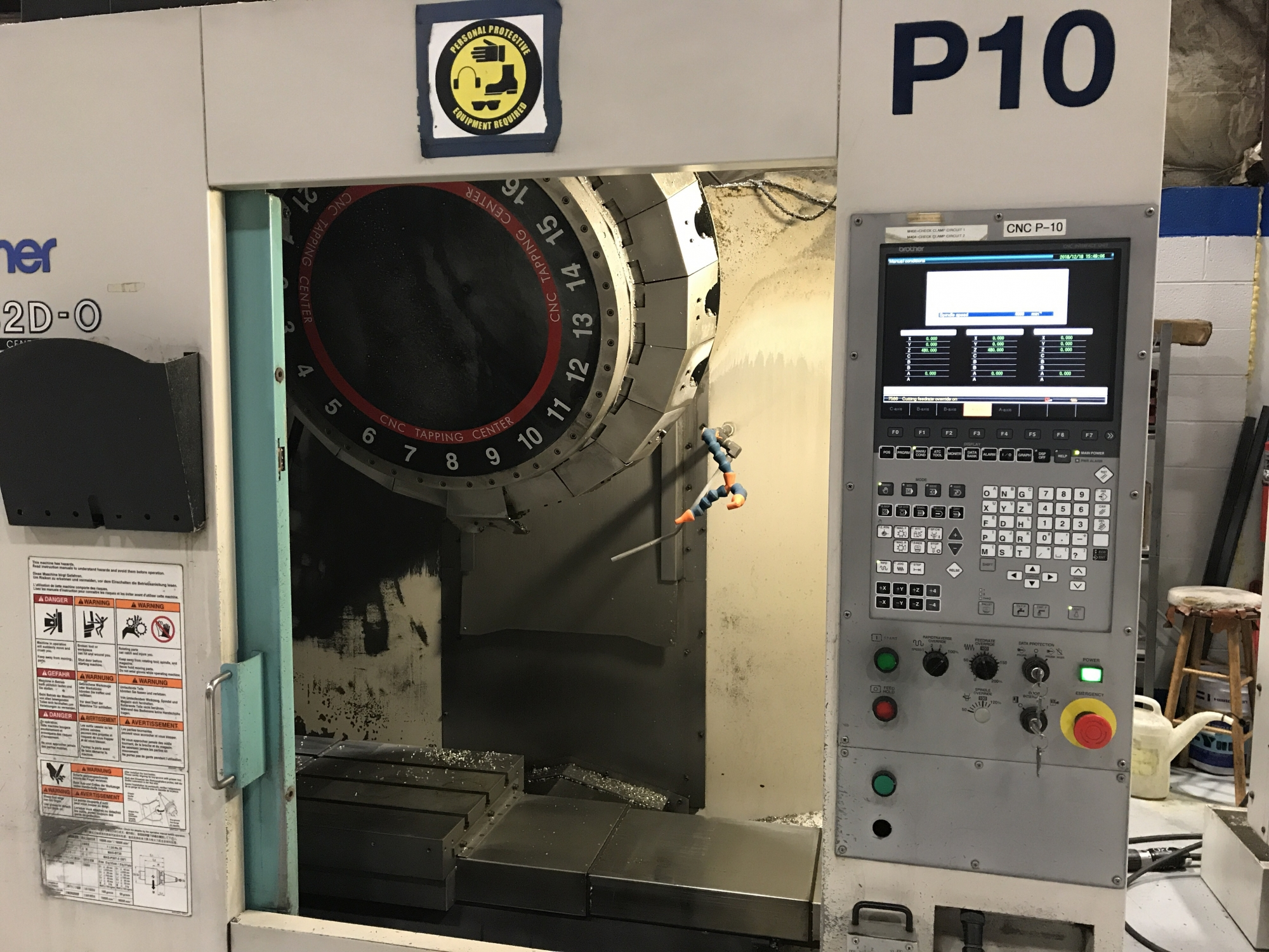 2010 BROTHER TC-S2DN-0 - Vertical Machining Center