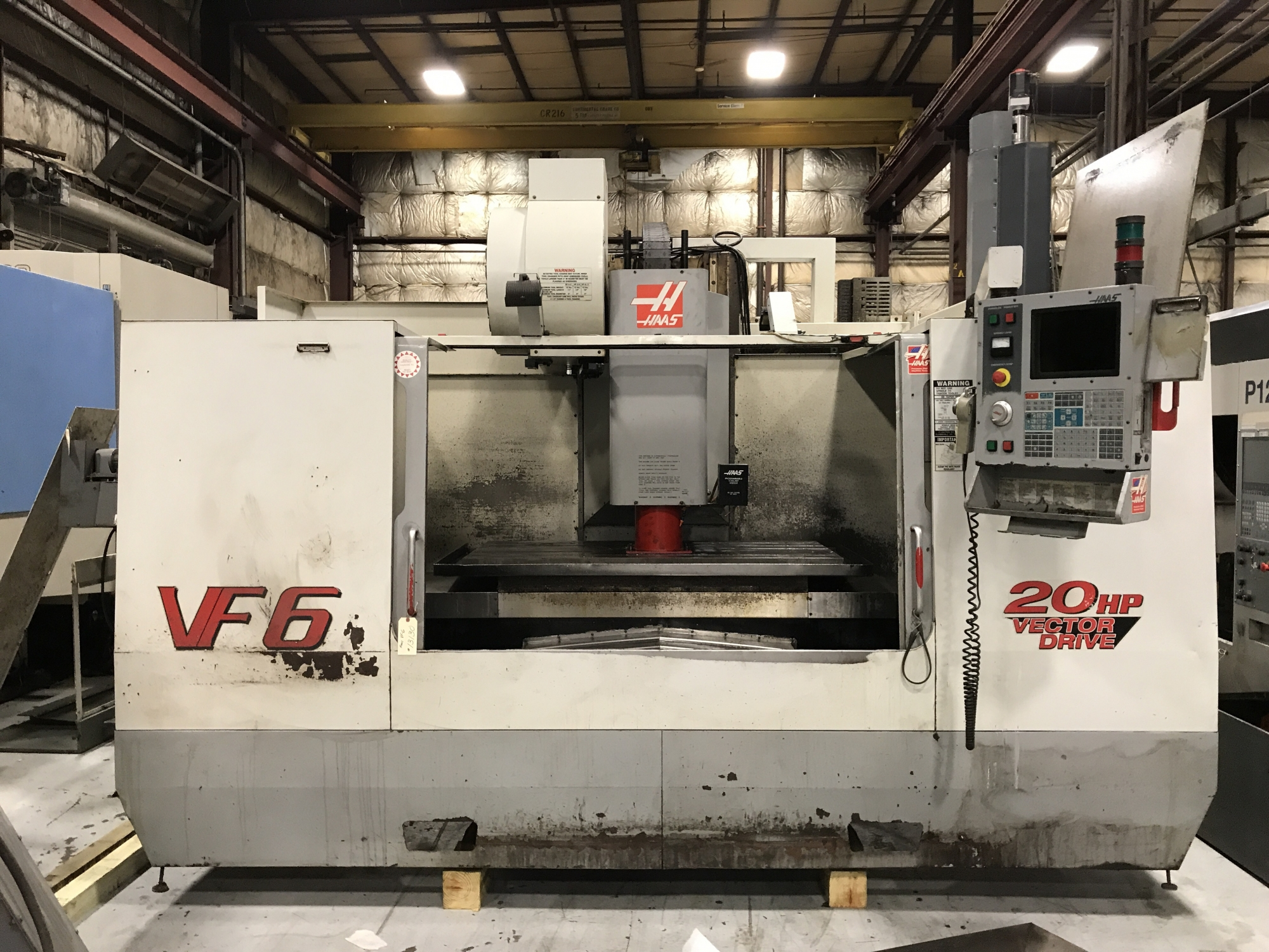 2001 HAAS VF-6 - Vertical Machining Center