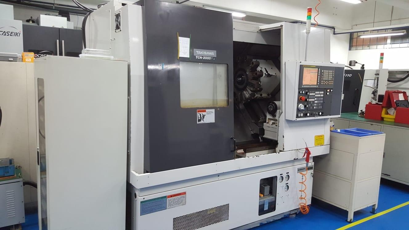 2011 TAKISAWA TCN-2000Y L6 - CNC Horizontal Lathe