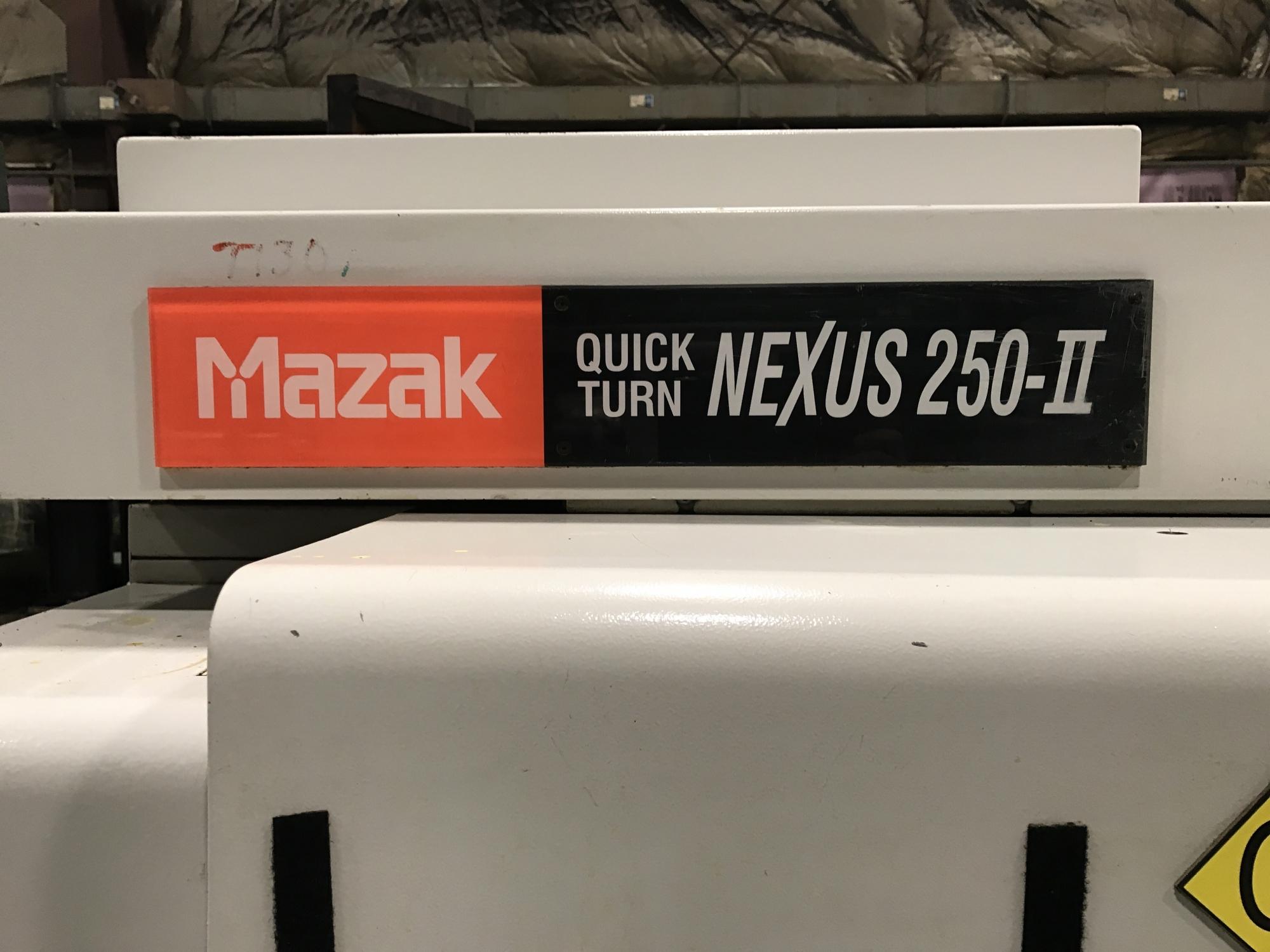 2007 MAZAK QTN-250II - CNC Horizontal Lathe
