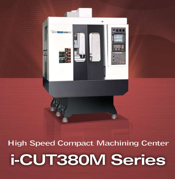 2013 HYUNDAI WIA i-CUT380M - Vertical Machining Center