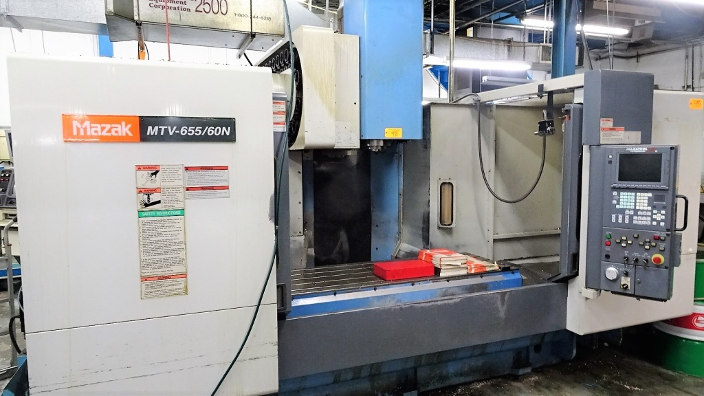 1999 MAZAK MTV-655/60 - Vertical Machining Center