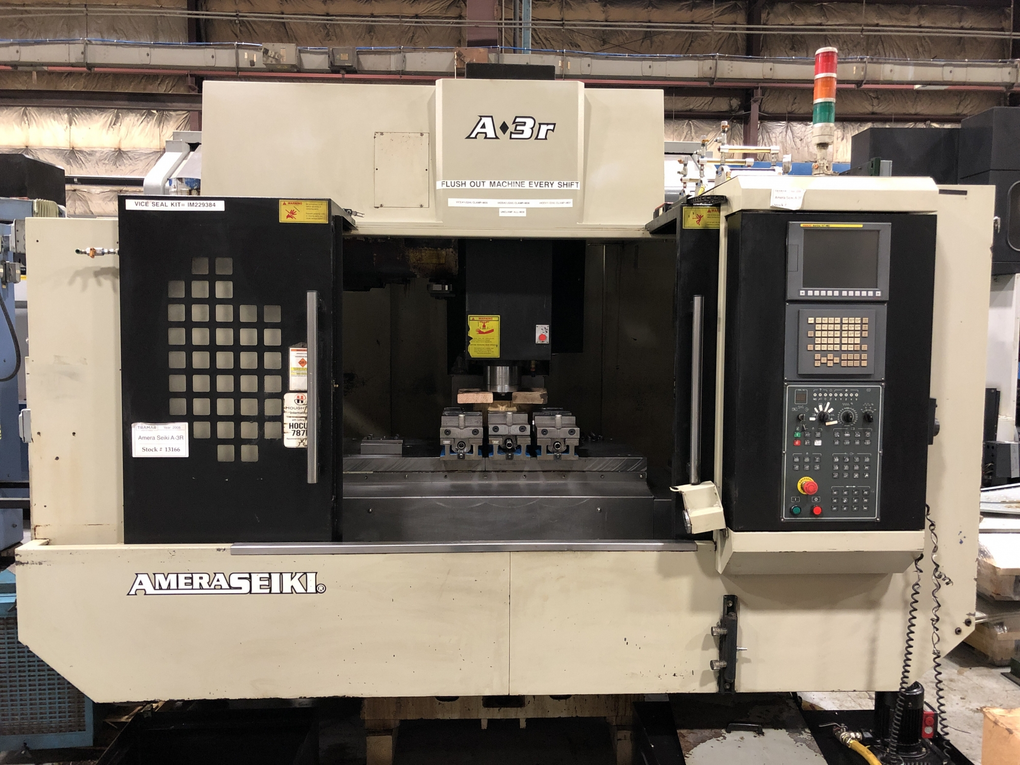 2008 Amera Seiki A-3R - Vertical Machining Center