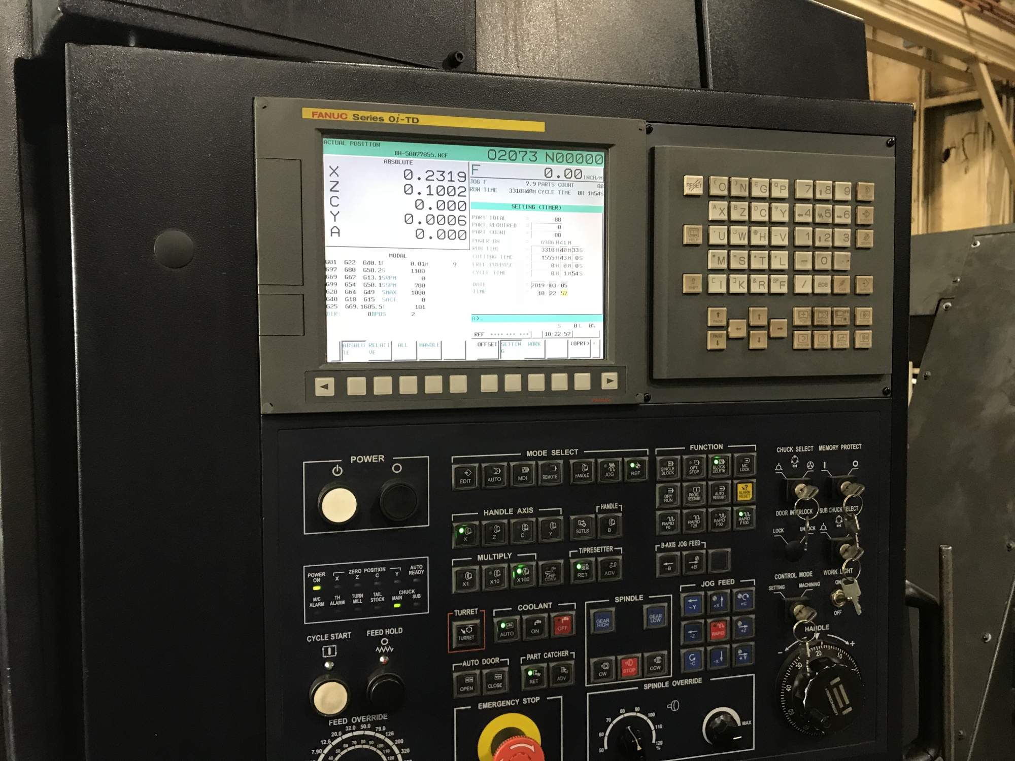 2015 HWACHEON Hi-Tech 350B YSMC - CNC Horizontal Lathe