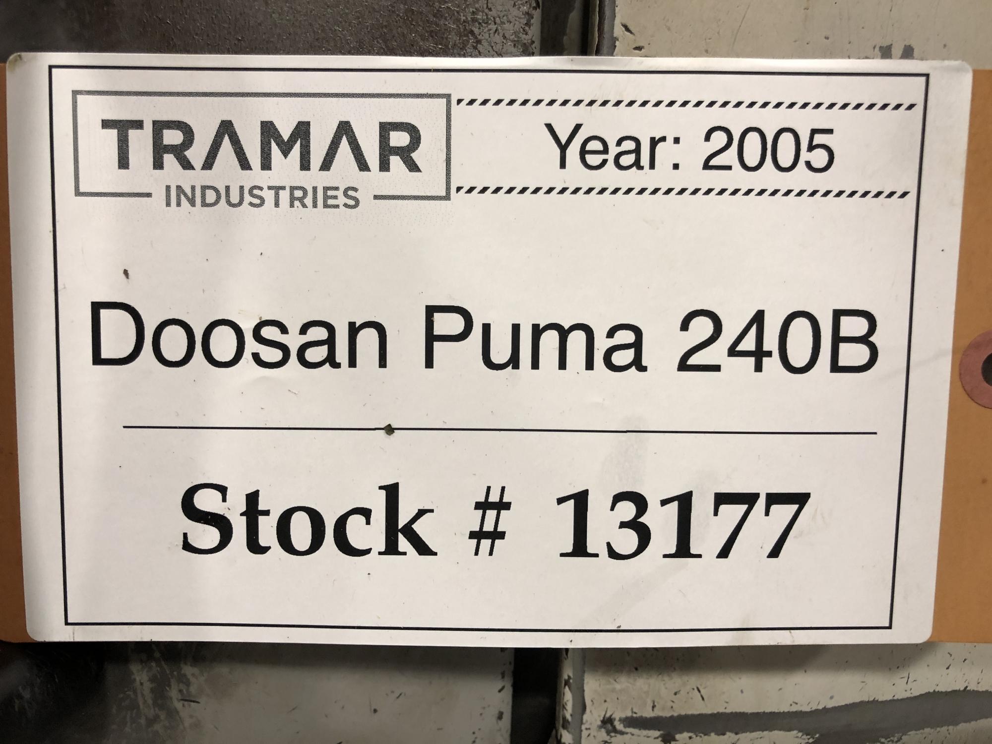 2005 DOOSAN Puma 240B - CNC Horizontal Lathe