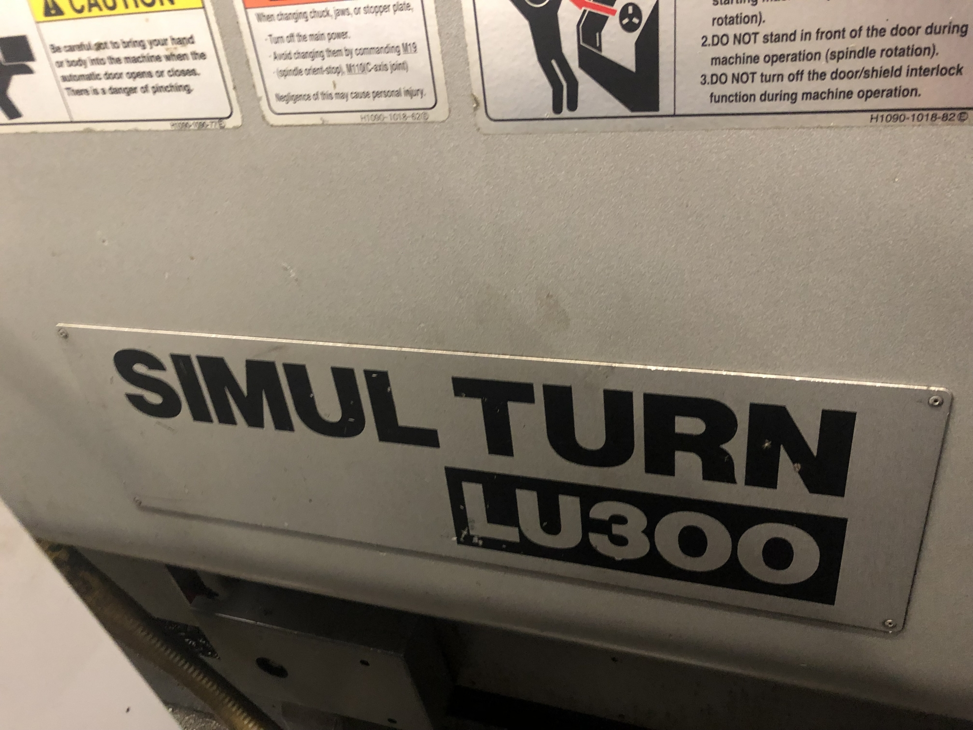 2009 OKUMA SimulTurn LU300/1000 - CNC Horizontal Lathe