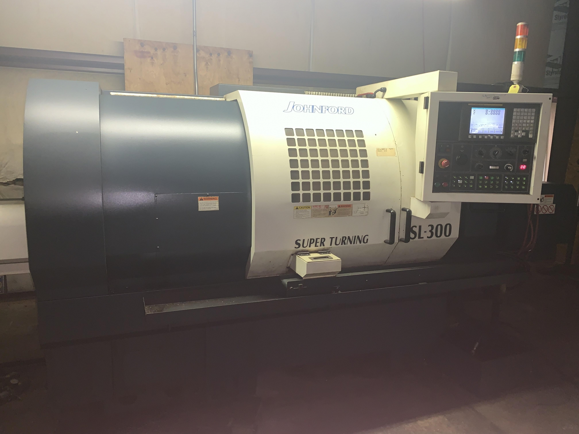 2007 JOHNFORD SL-300 - CNC Horizontal Lathe