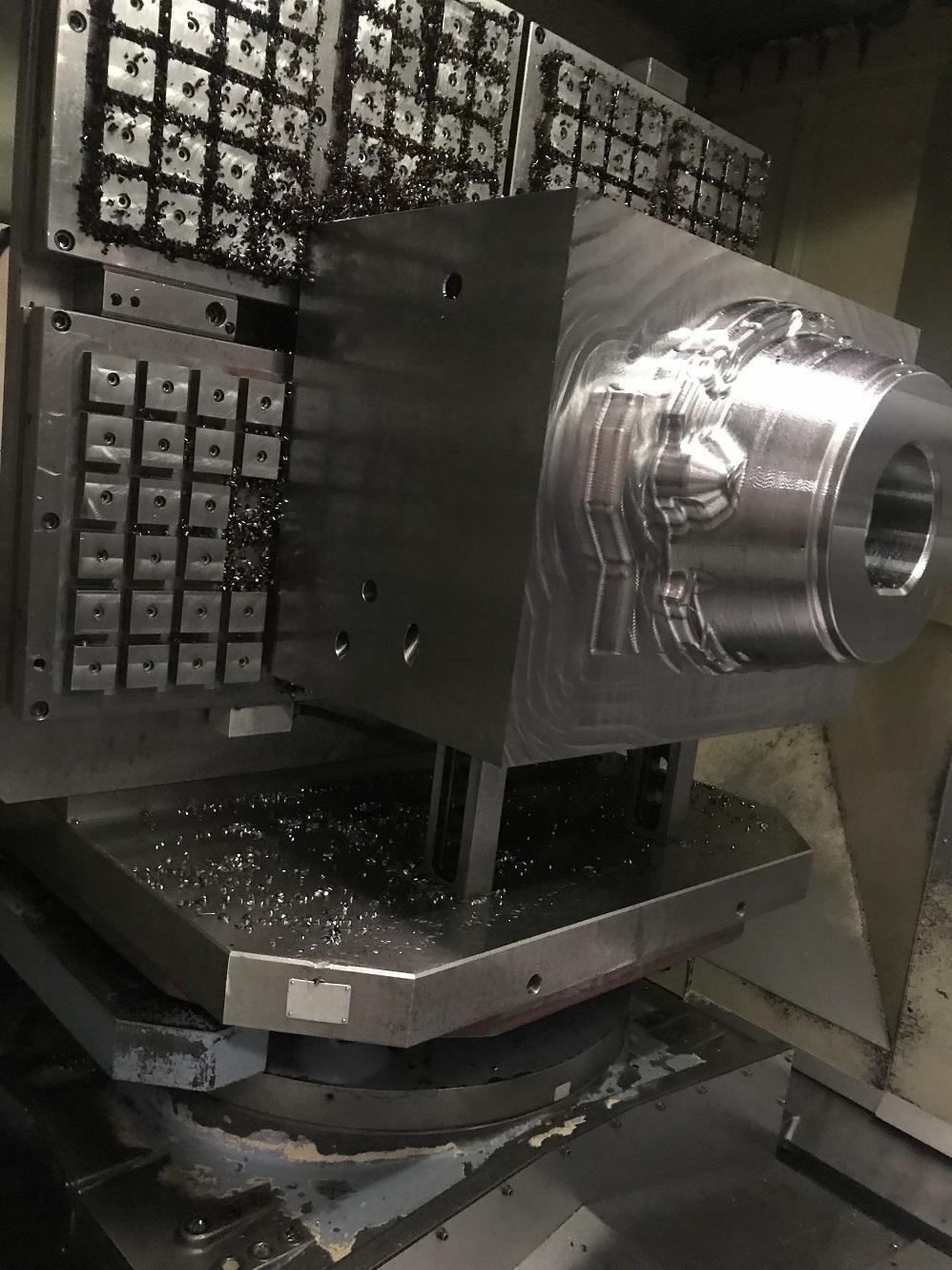 2002 OKK HM100s - Horizontal Machining Center