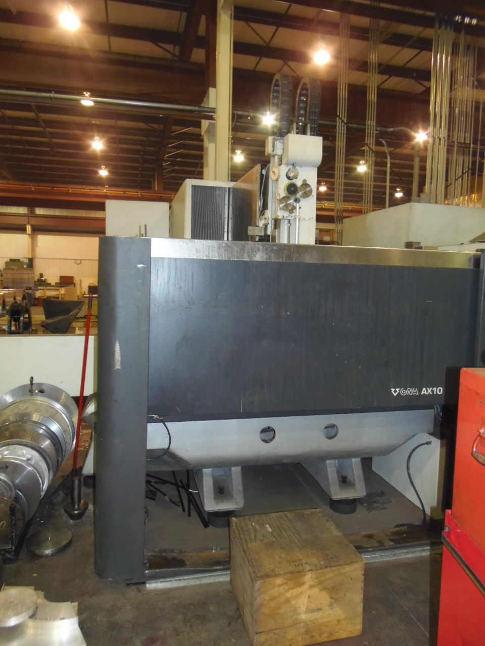 "ONA EDM MODEL AX10, TRAVELS 59.1 X 39.4 X 27.5"", 78.7 IPM TRAVERSE, TAPER, UV AXIS, 76 X 63 X 27.5 WORKPIECE, 22,000 LBS WEIGHT CAP., NEW 2008"