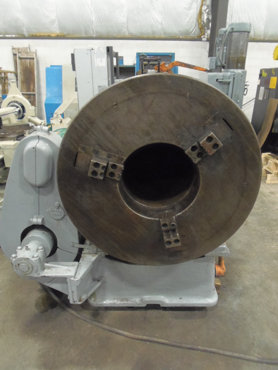"12"" LANDIS STATIONARY DIE HEAD PIPE THREADER, STRAIGHT CHASERS"