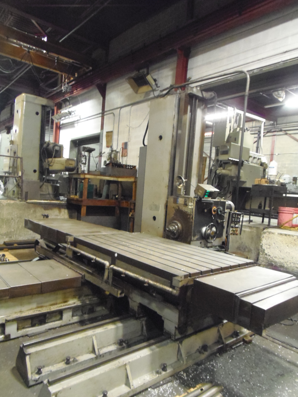 "4.3"" KURAKI  MODEL KBT-1101P, 84"" X 59"" X 72"" X 31""  TRAVELS, 12-1200 RPM, 49"" X 78"" TABLE, 1979"
