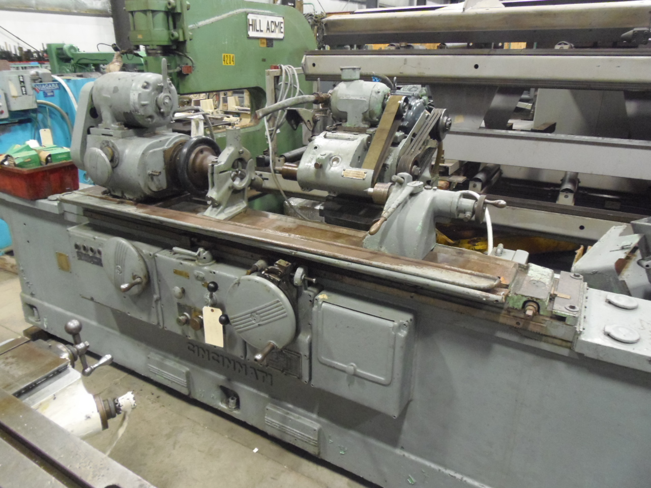 12 X 48 CINCINNATI UNIVERSAL, 5300 RPM SWING DOWN ATTACHMENT,