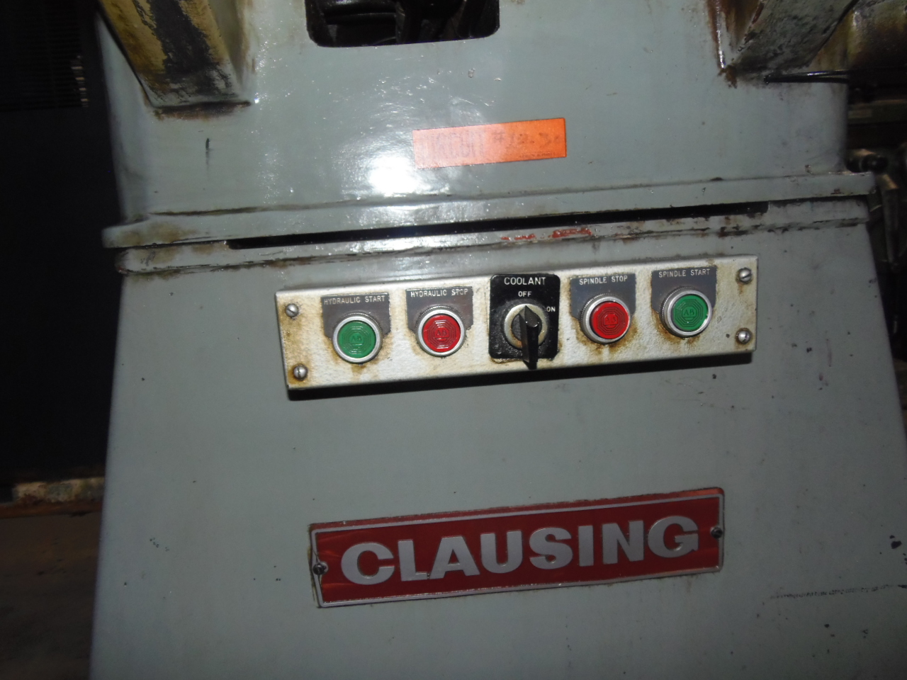 "10"" X 15"" CLAUSING, MODEL 4020, 14"" UNDER WHEEL, HYDRAULIC FEED , PERMANENT MAGNETIC CHUCK,"