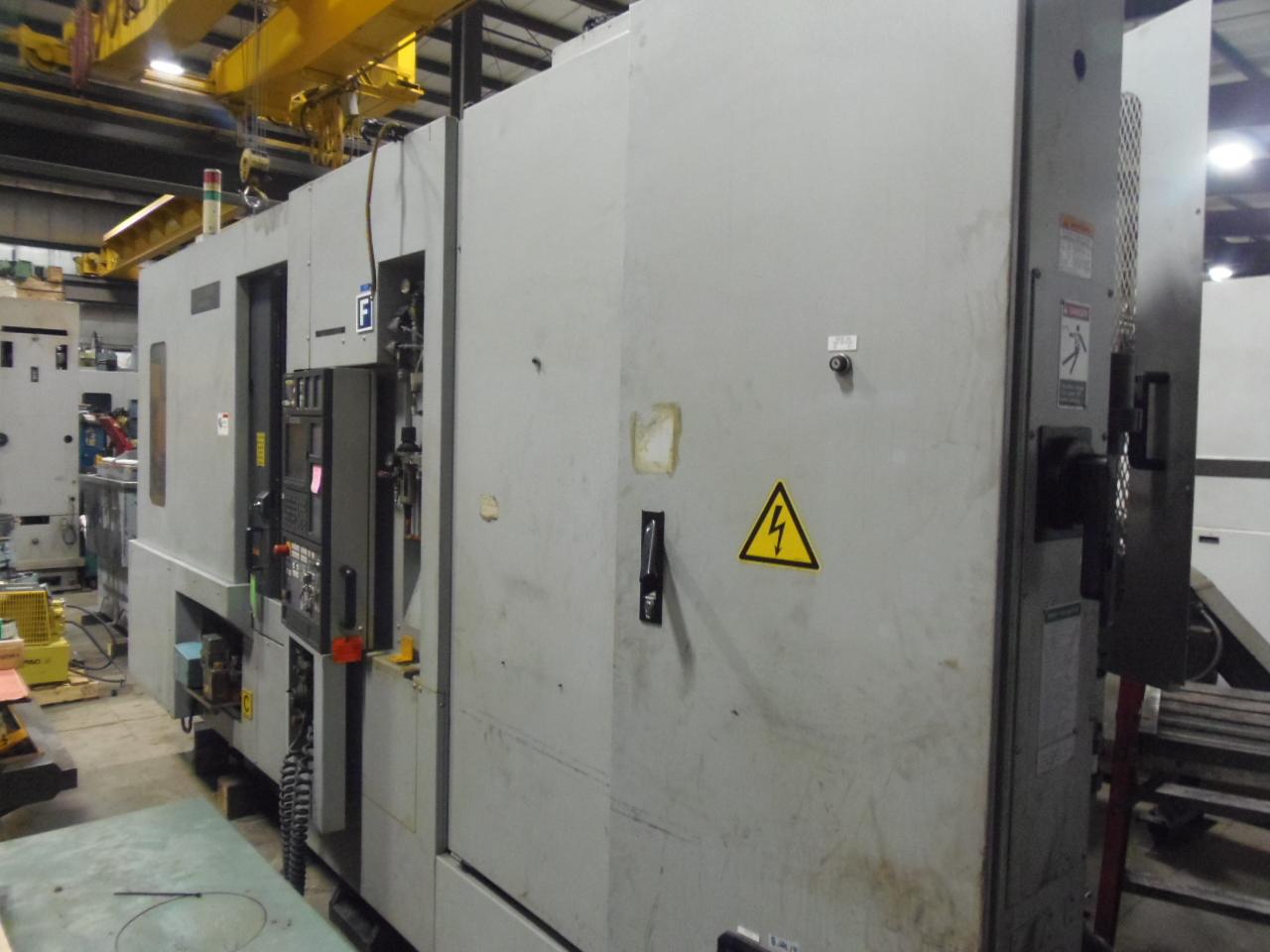 NH-5000/40 MORI SEIKI HORIZONTAL MACHINING CENTER, MODEL NH5000, 2003, THRU SPINDLE COOLANT, 1 DEGREE, MSC501 WITH MAPPS, 60 ATC, 40 TAPER, 2 PALLET. 14,000 RPM