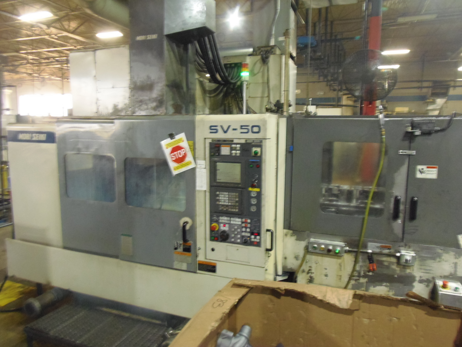 MORI SEIKI SV50B/40, MSC-518 (FANUC 18M)  CONTROL, 10,000 RPM, 30 TOOLS, TSC, PALLET CHANGER, 1997