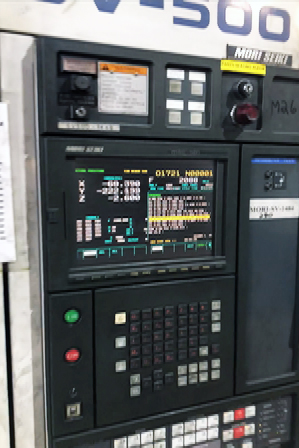 MORI SEIKI SV-500, MSC-518 (FANUC 18M)  CONTROL, 10,000 RPM, 18 TOOLS, TSC, PALLET CHANGER,1998
