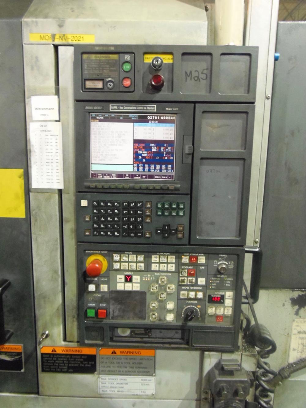 MORI SEIKI NV5000B/40, MSC-501, MAPPS, 12,000 RPM, 30 TOOLS, TSC, PALLET CHANGER, 2003