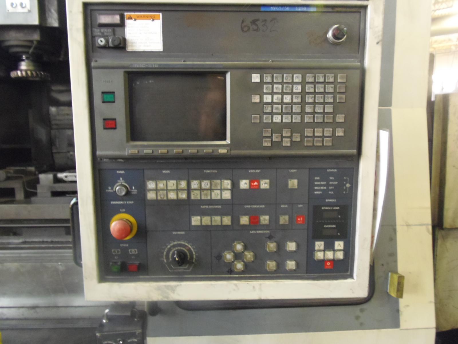 MORI SEIKI MV-65, PALLET CHANGER,  MSC-516 CONTROL (FANUC 16M), 60 X 25 X 25 TRVLS, 40 ATC, 25 HP, 4000 RPM