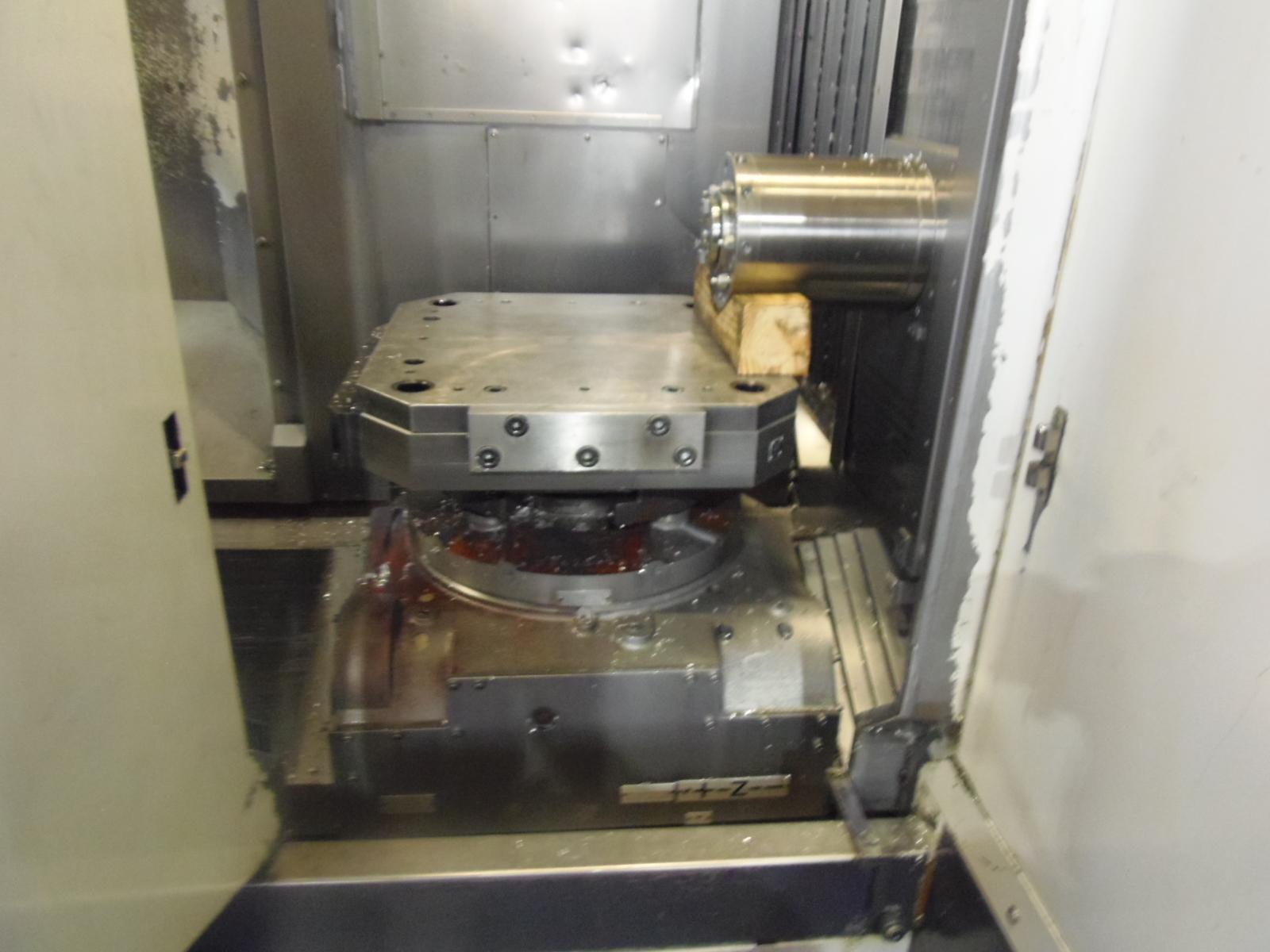 "ENSHU JE80S, 2006, 20"" PALLETS, TSC, 18iMB CONTROL, 31 X 31 X 31 TRAVELS, BT-40 TAPER, 15,000 RPM, HYD. FIXTURE INTERFACE"