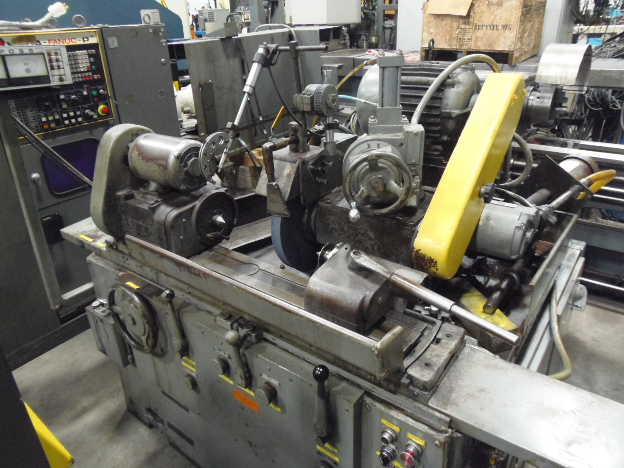 "6"" X 18"" LANDIS 1R CYLINDRICAL GRINDER, HYDRAULIC TRAVERSE AND INFEED, MARPOSS, MANUALS, TOOLING"