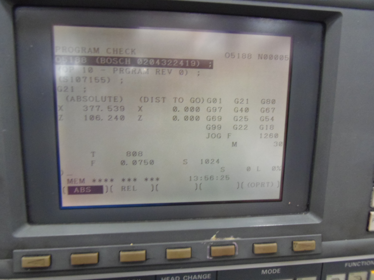 """MORI SEIKI CL-25A CNC LATHE, 10"""" 3-JAW CHUCK, MSC-521 CONTROL, 1997"""