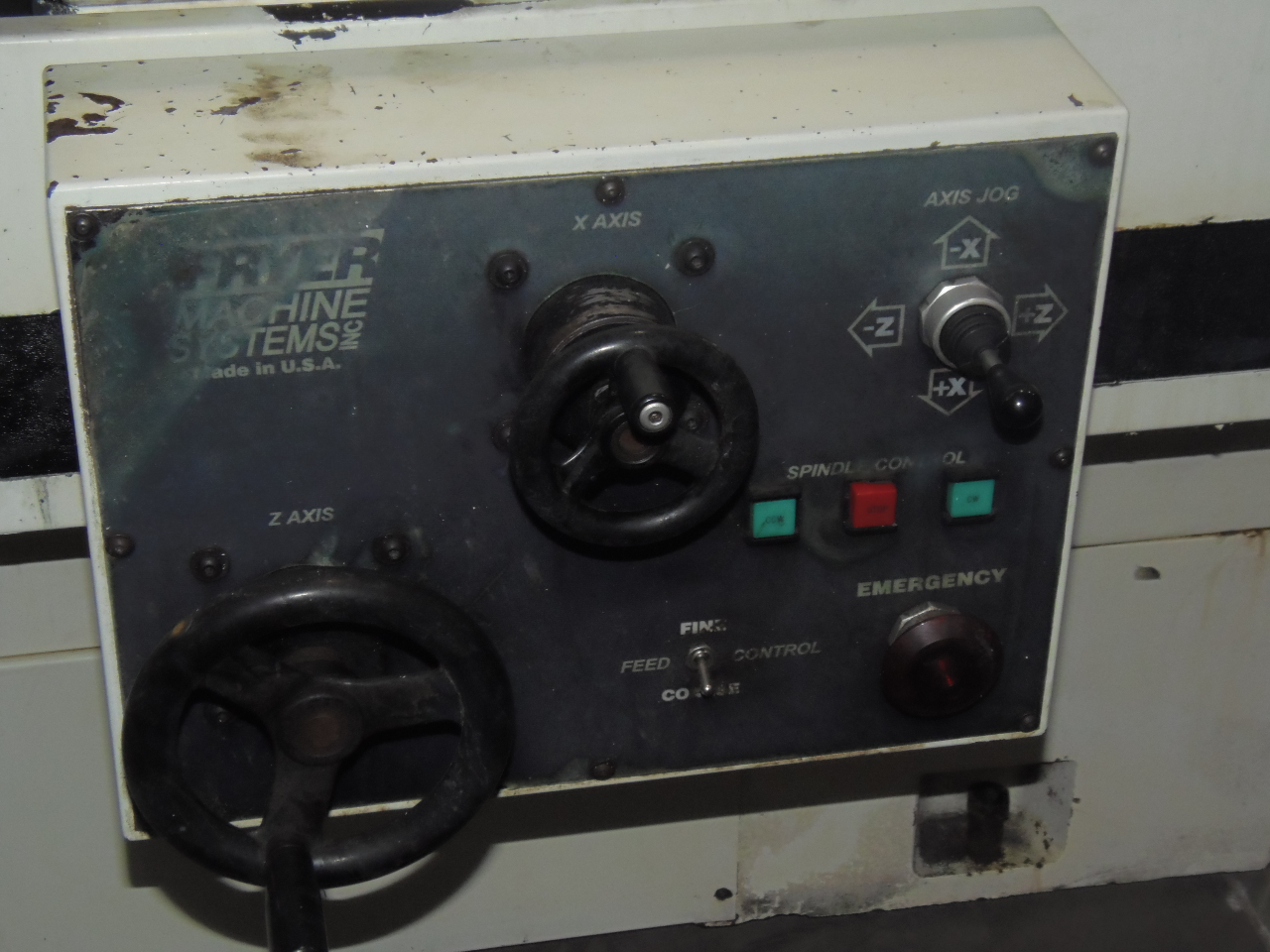 """FRYER ET-18 CNC TEACH LATHE, 18"""" SWING, 40"""" CENTER DIST, 10"""" 3-JAW CHUCK, TAILSTOCK, 1999"""