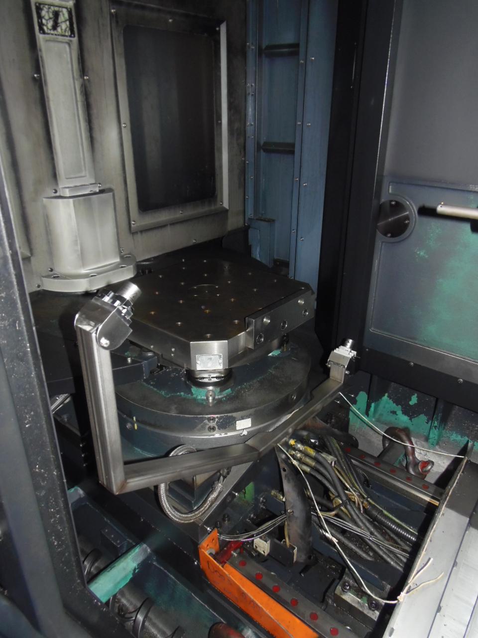 """DOOSAN HP-5100, 33.5 X 27.6 X 29.5 TRAVELS, 2-19.7"""" PALLETS, FANUC 31i, TSC, CHIP, 60 ATC, CAT 40, 12,000 RPM, 2362 RAPIDS,  2010"""