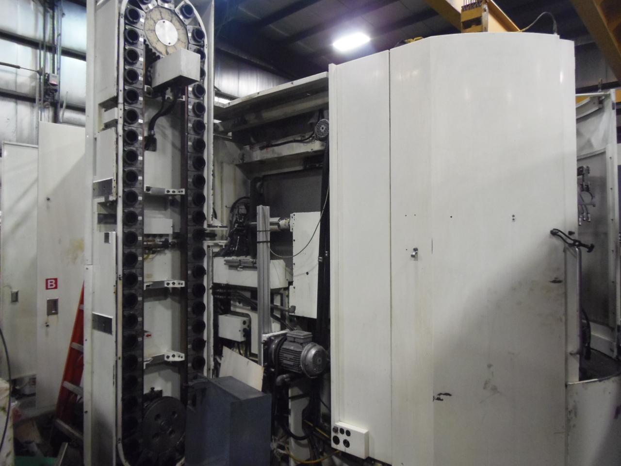 "KITAMURA HX-500i, 19.7"" (2) PALLETS, 4TH AXIS, 50 TAPER, 50 ATC, 12,000 RPM, TSC, 2006"
