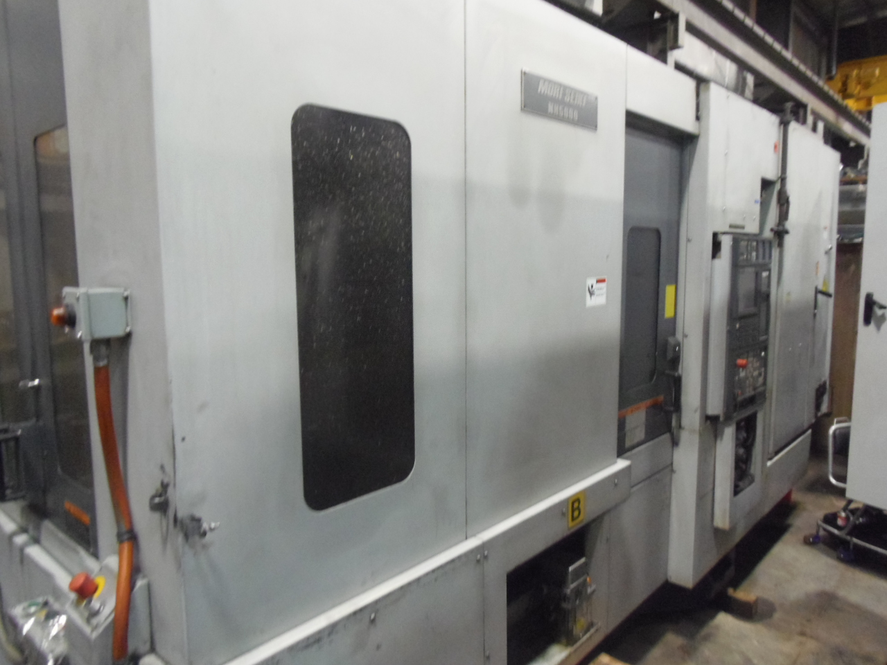 NH-5000/40 MORI SEIKI, MODEL NH5000, 2003, 1 DEGREE, MSC501, 60 ATC, 40 TAPER, 2 PALLET, 14,000 RPM