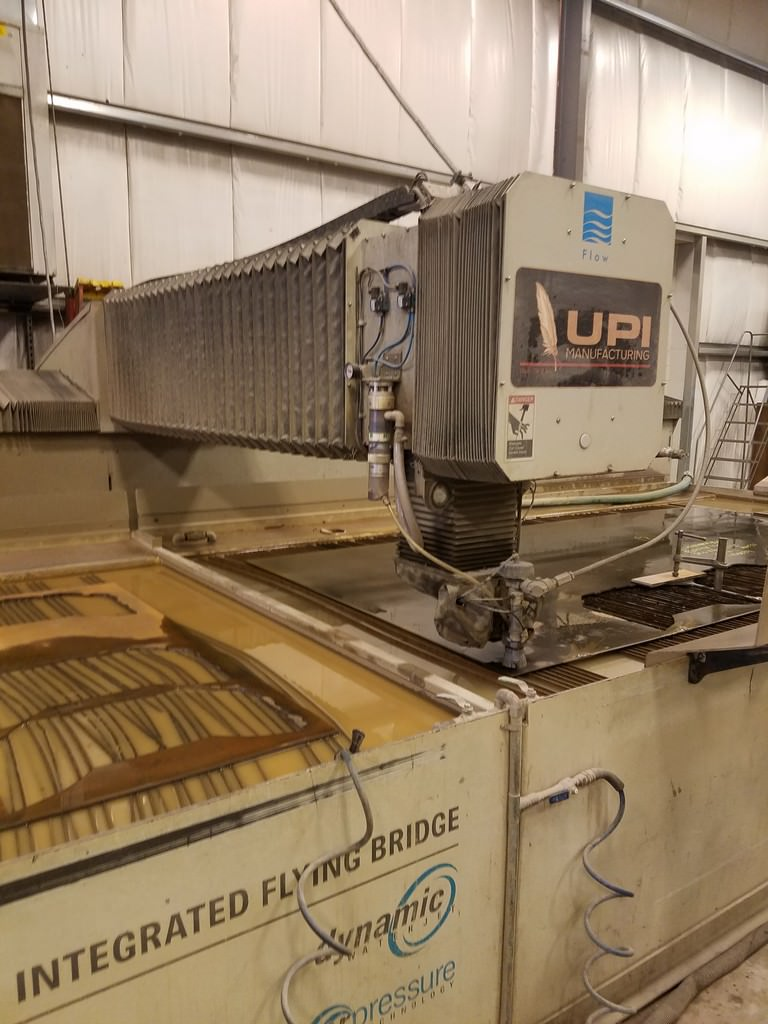 FLOW IFB 6'X 24' CNC WATER JET CUTTING SYSTEM, 2009