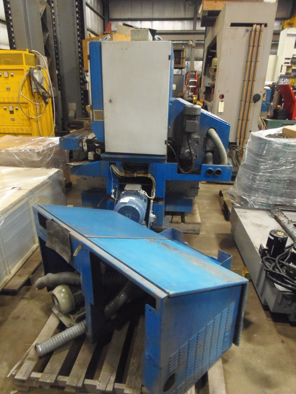 "37"" STEELMASTER, 2007, WET, SINGLE BELT DEBURRING  MACHINE, PRIMA"