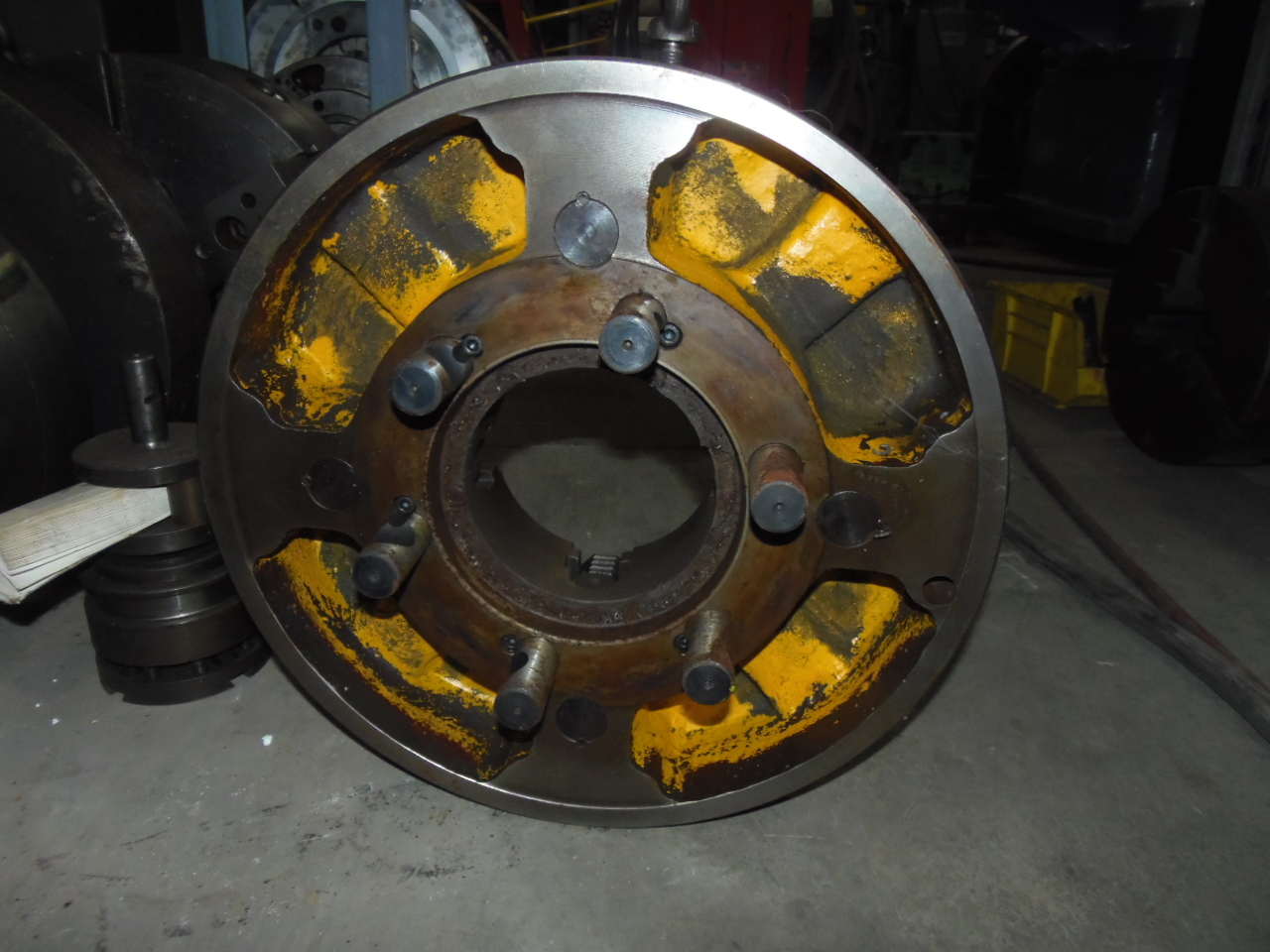 """20 INCH CHUCK - 4 JAW INDEPENDENT - 6"""" HOLE - D1-11 SPINDLE MOUNT"""