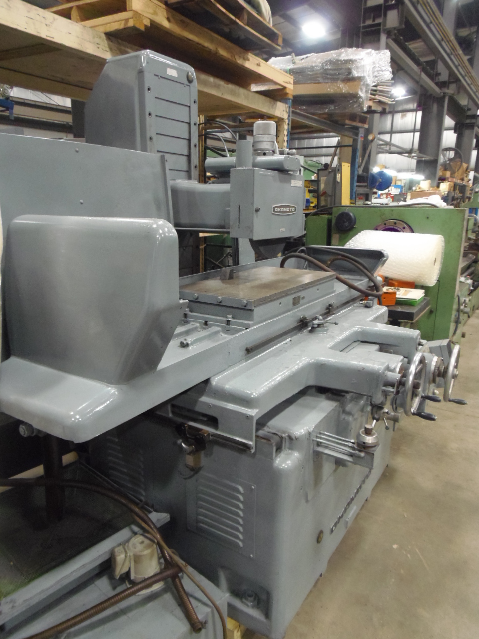 "16"" X 32"" OKAMOTO SURFACE GRINDER, MODEL PSG-84, FULLY AUTOMATIC, COOLANT"