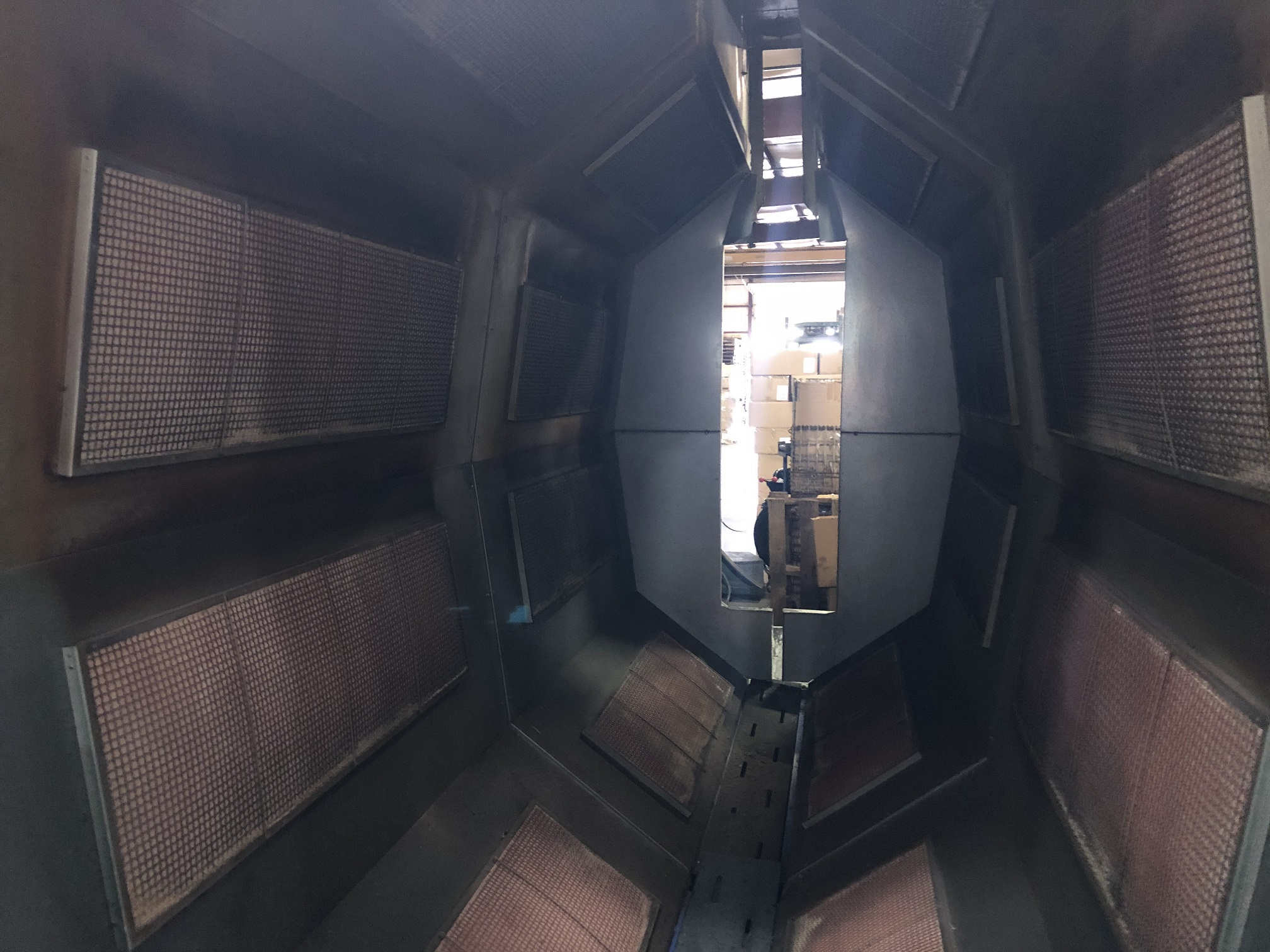 """18' VULCAN CATALYTIC INFRARED OVEN, 20"""" W X 62"""" PART, 400 DEGREES, 2012"""