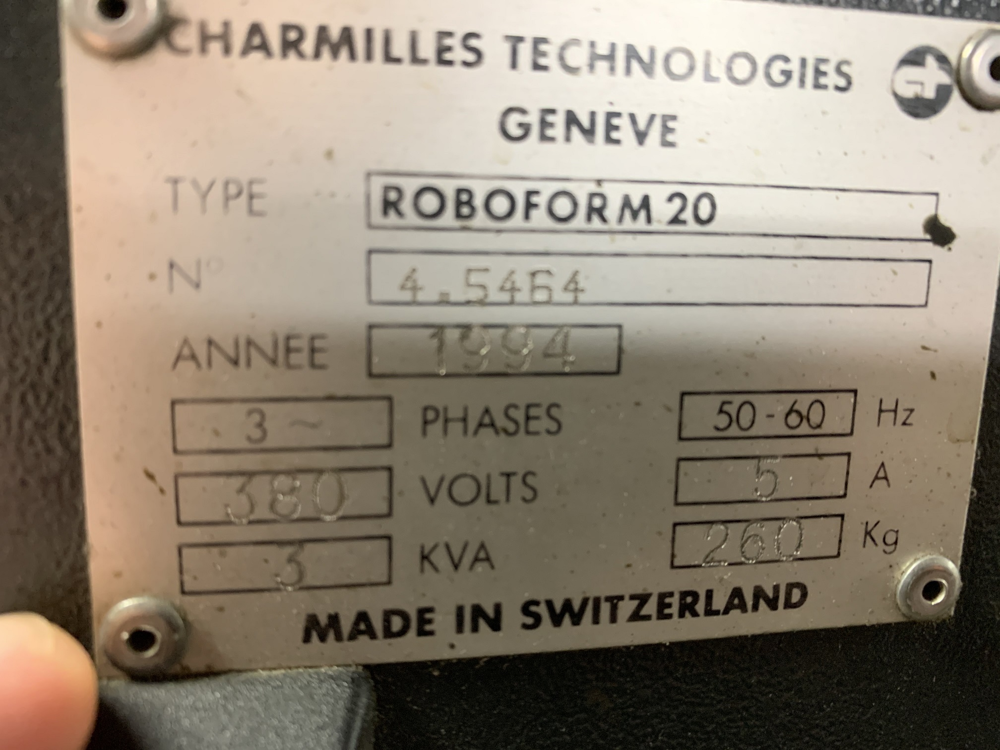 CHARMILLES ROBOFROM 20